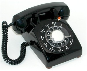 It's not as if I had just bought a really old fashioned phone!